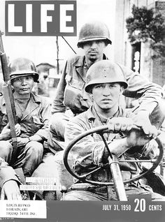 Cpl. Lou Repko is at the wheel of the Jeep during the  first day of the Korean War. Repko winters in Craig's RV Park near Arcadia, Fla.
