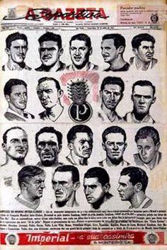 Gazeta Esportiva - Escrete Palmeirense Campeão do Mundo em 1951