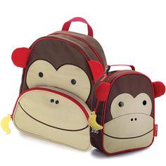 14593bb8f Com este divertido kit de lancheira e mochila escolar skip hop