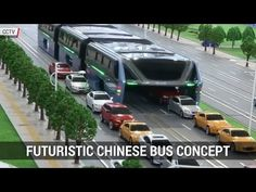Futuristic Chinese Bus Concept Aims To Improve Public Transit | Autoblog Minute - YouTube