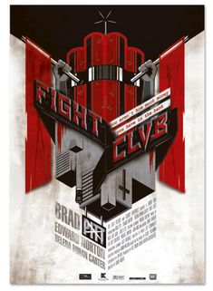 Fight Club Poster by Julian Ospina