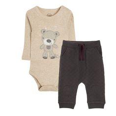 Cool Club, Komplet niemowlęcy, Body, Spodnie