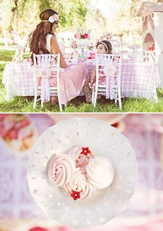Dainty Mommy and Me Tea Party Ideas // Hostess with the Mostess®: