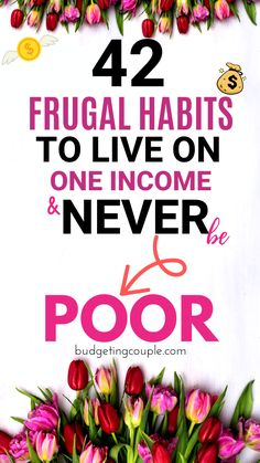 42 Frugal Hacks to Live on One Income & NEVER be Poor - Frugal Living - Start saving money on autopilot when you utilize these genius (yet simple) frugal tips and tricks. Best Money Saving Tips, Ways To Save Money, Money Tips, Saving Money, Money Hacks, Money Savers, Frugal Living Tips, Frugal Tips, One Income Family