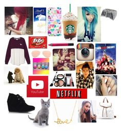 """Everything all girls need in life"" by mylifeaseva10 ❤ liked on Polyvore featuring art"