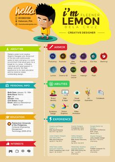 Creative- Personal Resume (CV) on Behance