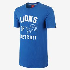Nike Store. Nike Washed Of The City (NFL Lions) Men's T-Shirt