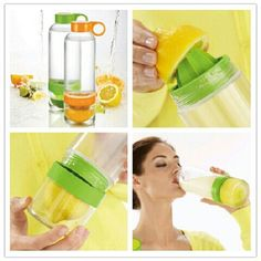 I JUST bought this. Can not wait to try it out. I am really trying to drink more water :))))