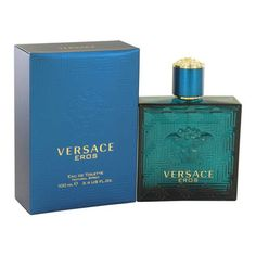 versace eros cologne by versace for men 3.4 Oz Eau De Toilette Spray Spray