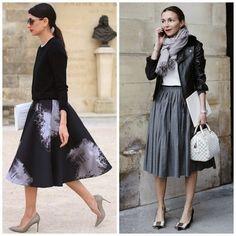 Chic and Silk: ΦΟΥΣΤΑ: Midi. Πως να φορέσετε το μεσαίο μήκος!