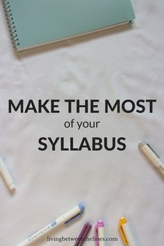Syllabus week is so boring, but using your syllabus right is the key to a successful semester! college student resources, college tips #college