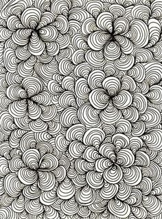 Zentangle -- a great source for quilting inspiration #HandiQuilter