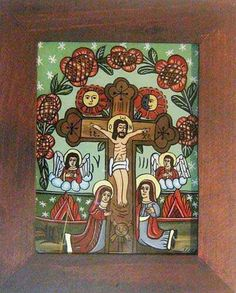 Jesus Christ Images, Religious Art, Lent, Folk Art, Sculptures, Projects To Try, Glass, Painting, Illustration