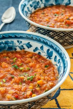 Tomaten-linzensoep - # in 2019 Best Healthy Soup Recipe, Best Soup Recipes, Chowder Recipes, Clean Recipes, Easy Healthy Recipes, Veggie Recipes, Whole Food Recipes, Easy Meals, I Love Food