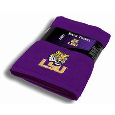 NCAA LSU Tigers Bath Towel