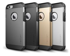 Spigen Tough Armor series for iPhone 6 is gorgeous and seriously protective