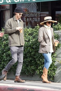 Vanessa Hudgens and boyfriend Austin Butler go for a stroll in L.A. on Wednesday.