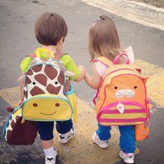 Hi-ho, hi-ho, off to school we go!