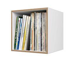 Fesselnd Ein Postfach Macht Dein Ikea Kallax Zu Einem Plattenregal   Einrichten    Pinterest   Organizing, Storage And House