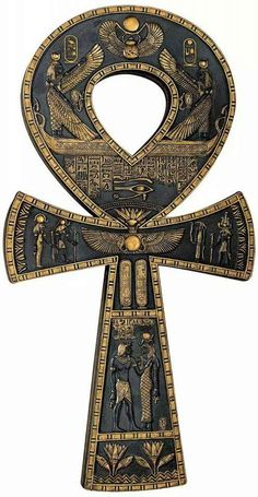need for the religion wall. Design Toscano Ancient Egyptian Ankh Wall Plaque >>> You can get additional details at the image link. (This is an affiliate link and I receive a commission for the sales) Egyptian Mythology, Egyptian Symbols, Egyptian Goddess, Ancient Symbols, Ancient Artifacts, Isis Goddess, Ancient Egypt Art, Ancient History, European History