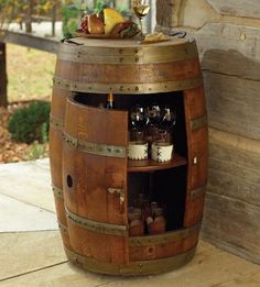 39 Wine Barrel Ideas: Creative DIY Ideas for Reusing Old Wine Barrels