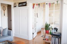 """Inside S.F.'s Teensiest Apartments — Major Inspo Ahead! #refinery29  http://www.refinery29.com/2013/06/48859/cool-small-apartments#slide12  What are your favorite parts of your apartment?  """"The living room — we call it the 'hang zone.'"""" Is there anything you don't have room for that you wish you could bring in?  """"A bigger couch and a proper dining table. We had to downsize those two things when we got this place. I miss taking naps on the couch and inviting more than two friends over for ..."""