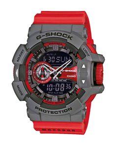 Ρολόι Casio G-Shock Anadigi GA-400-4BER