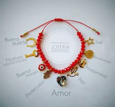 Handmade Wire Jewelry, Diy Jewelry, Jewelry Making, Beaded Jewelry Patterns, Bracelet Patterns, Bracelet Crafts, Beaded Bracelets, Pride Bracelet, Red String Bracelet