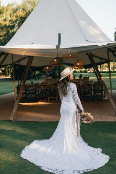 Gold Coast Tipi Wedding Magic - The Acre Boomerang Farm Tipi Wedding, Marquee Wedding, Wedding Shoot, Wedding Venues, Wedding Dresses, Outdoor Dance Floors, Just Amazing, Gold Coast, Festival Fashion