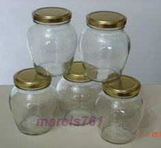 frascos-envases conservas mermelada almendra 360 cc x 15
