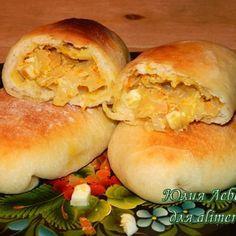 Жареные пирожки с капустой / Рецепты с фото