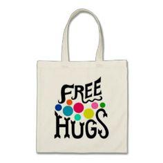 Chorotega Free Hugs Tote Bag #freehugs