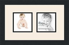 Art to Frames Double-Multimat-41-824/89-FRBW26079 Collage Photo Frame Double Mat with 2 - 5x5 Openings and Satin Black Frame -- You can find more details by visiting the image link. (This is an affiliate link) #PictureFrames