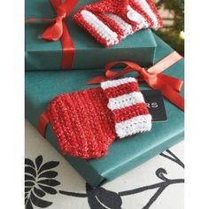 Gift Card Stocking - Crochet Patterns - Patterns | Yarnspirations