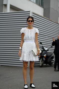 On the Street…..Leandra Medine