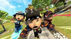 New Animation Movies, Boboiboy Anime, Boboiboy Galaxy, Tom And Jerry, Picture Video, Mickey Mouse, Disney Characters, Fictional Characters, Geek Stuff