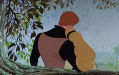♫ You'll love me at once, the way you did once upon a dream. ♫