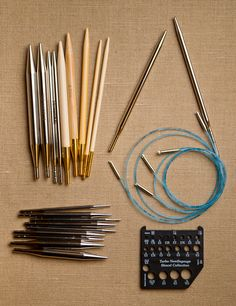 for the knitters out there: Interchangeable Needles!