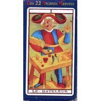 #Tarot Coleccion Los 22 Arcanos Mayores (22 Cartas) (Four) 04/16