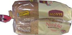 Hovis Nimble Wholemeal Bread 400g