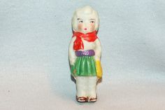 Vintage / Bisque Doll / Cowgirl / Western by AmericanHomestead, $9.75