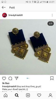 Diy Fabric Jewellery, Fabric Earrings, Jewelry Design Earrings, Lace Jewelry, Trendy Jewelry, Diy Earrings, Earrings Handmade, Fashion Jewelry, Silver Jewelry