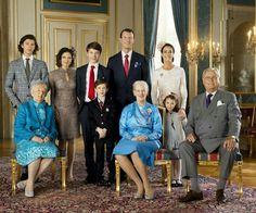 Prince Felix confirmation: Prince Nikolai, Countess Alexandra's mother,  Countess  Alexandra, Prince Felix, Prince Henrik, Prince Joachim of Denmark, Queen Margrethe of Denmark, Princess Marie of Denmark, Princess Athena, Prince Henrik. April 1 2017