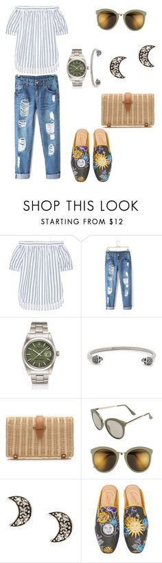 """moonchild/summer."" by letyrdz ❤ liked on Polyvore featuring MICHAEL Michael Kors, Alexander McQueen, J.Crew, BP., Stubbs & Wootton and rolex"