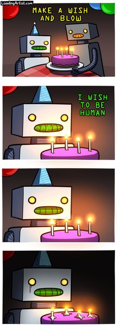 MAKE A WISH AND BLOW - tap to view the full comic!
