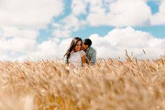 E-session em um campo de trigo – Ana Paula