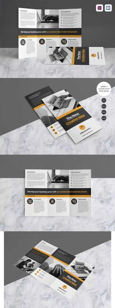 Corporate Brochure Template InDesign INDD A4