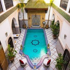 Dreaming of warmer days in Marrakesh...