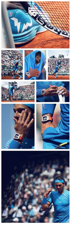 Rafael Nadal may be out of the 2015 French Open, but you can still get his look here: http://www.tennis-warehouse.com/player.html?ccode=RNADAL