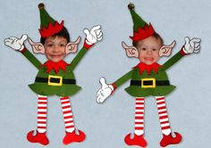 """One more post before Christmas. I did not plan this one but I wanted to do some """"Elf Yourselves"""" with my grand kids. I looked for some free ..."""